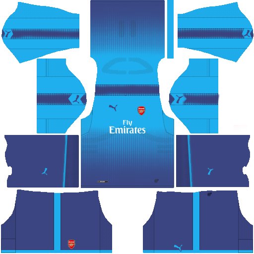 Arsenal Away Kit Dream League Soccer