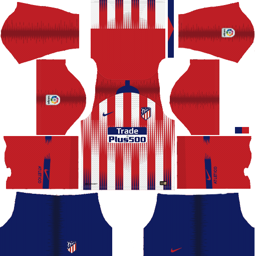 Atletico Madrid Kits Logo 2018 2019 Dream League Soccer