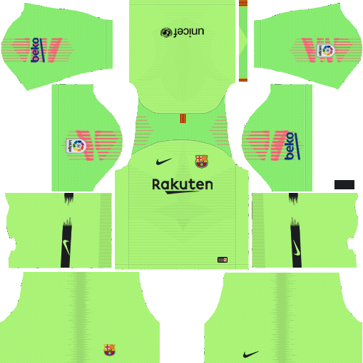 Barcelona GK Away Kit 2018 - 2019