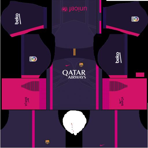 new arrival fea01 61407 FC Barcelona 2019-2020 Kit - Dream League Soccer