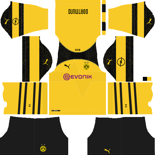 new styles c573a 33776 Borussia Dortmund 2019-2020 Kits - Dream League Soccer