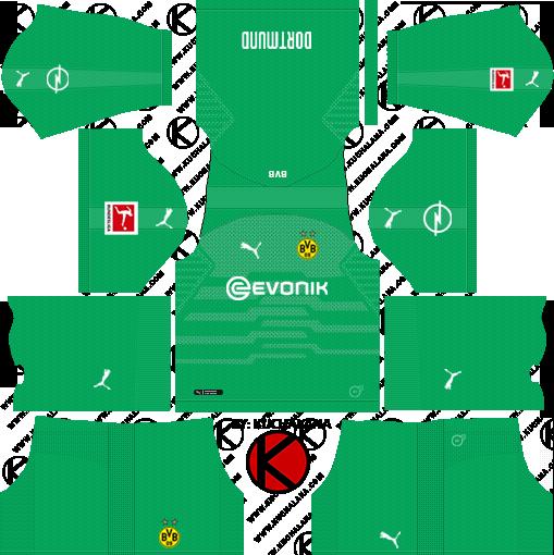Borussia Dortmund 2019 2020 Kits Dream League Soccer