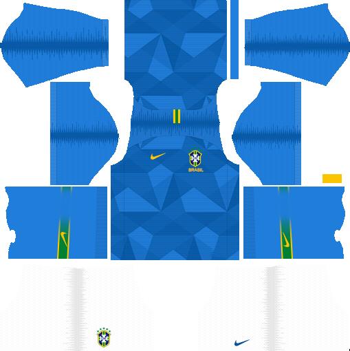 5324a87d7d2 Brazil 2018 World Cup Kits and Logo URL Dream League Soccer - DLSCenter