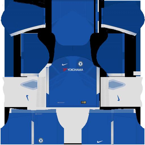 Chelsea Home Kit Dream League Soccer