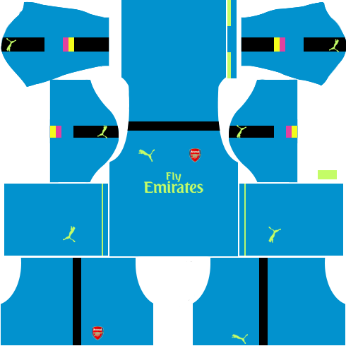 Arsenal Goalkeeper Away Kits 2016-2017
