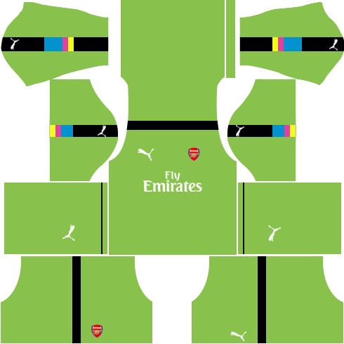 Arsenal Goalkeeper Third Kits 2016-2017