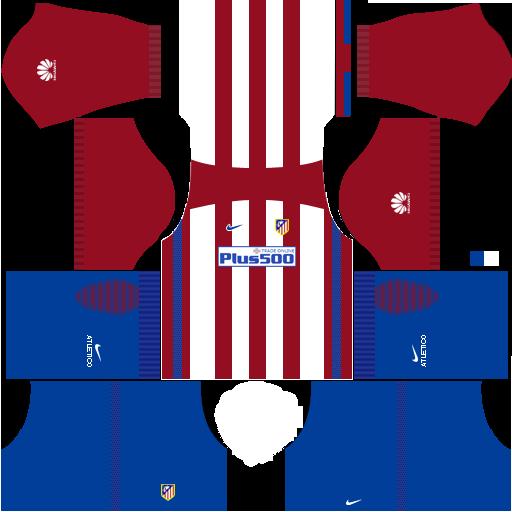 Atletico Madrid 2019 2020 Kits Dream League Soccer