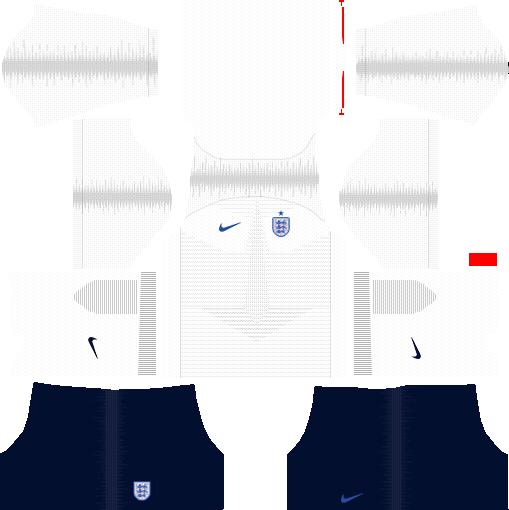 01d7db87a22 England 2018 World Cup Kits & Logo URL Dream League Soccer - DLSCenter