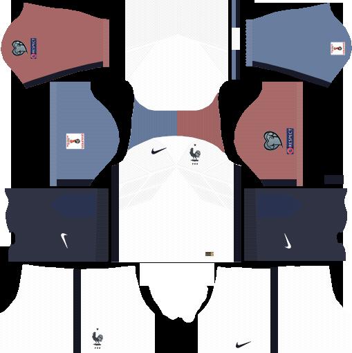 Logo France Dream League Soccer 2018 - soccerfootball info