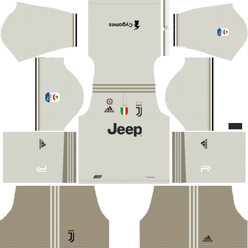 Juventus 2019-2020 Kits & Logo Dream League Soccer