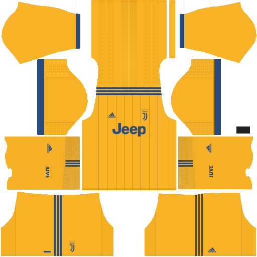 fa13423c3 Juventus 2018-2019 Kit   Logo - Dream League Soccer