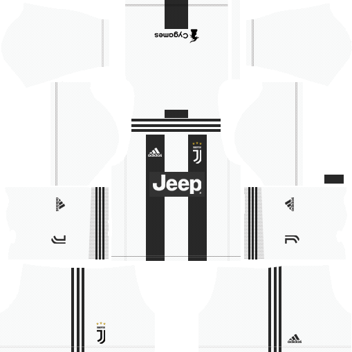 a0512632b Juventus 2018-2019 Kit   Logo - Dream League Soccer