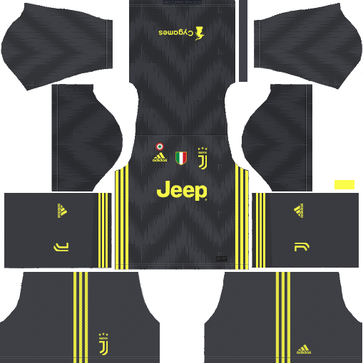 Juventus Third Kits 2018-2019 Dream League Soccer