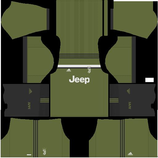 Juventus Third Kit Dream League Soccer 2017 - 2018