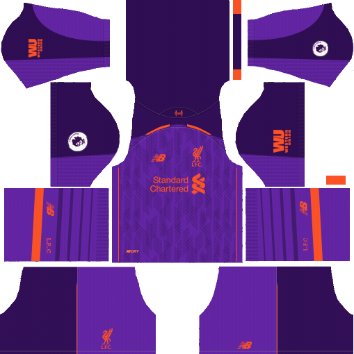 Liverpool Away Kit 2018-2019 Dream League Soccer