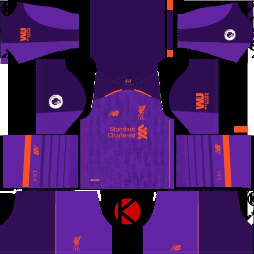 Liverpool FC 2018-2019 Kits - Dream League Soccer 8a95c221d