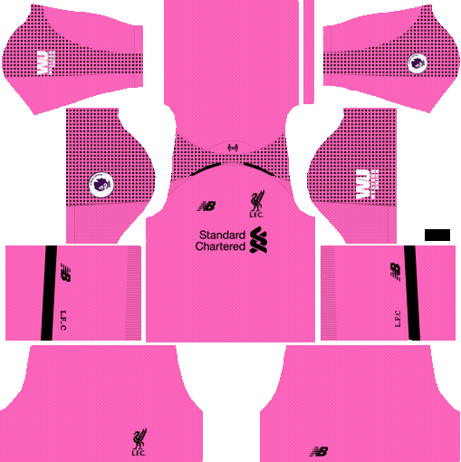 Liverpool GK Third Kit 2018-2019 Dream League Soccer
