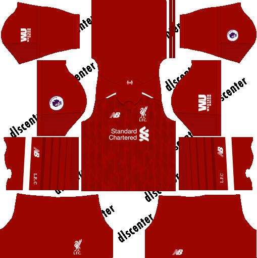 Liverpool Fc 2019 2020 Kits Dream League Soccer
