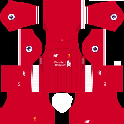 34c847692 Liverpool FC 2018-2019 Kits - Dream League Soccer