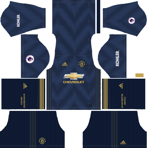 Manchester United Away Kits DLS