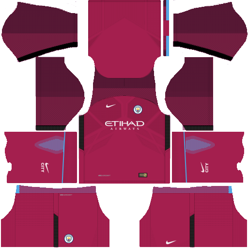 Manchester City Away Kit 17-18