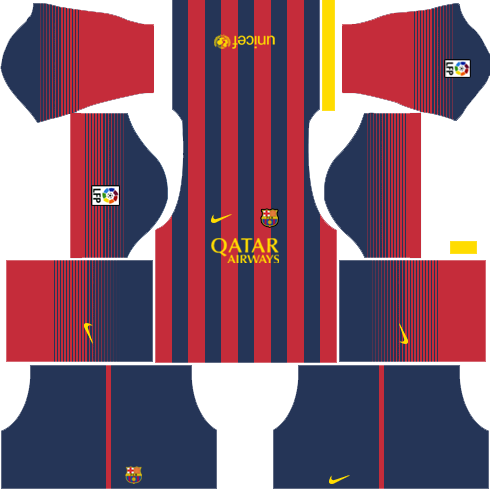 Barcelona Home Kit 2013-2014