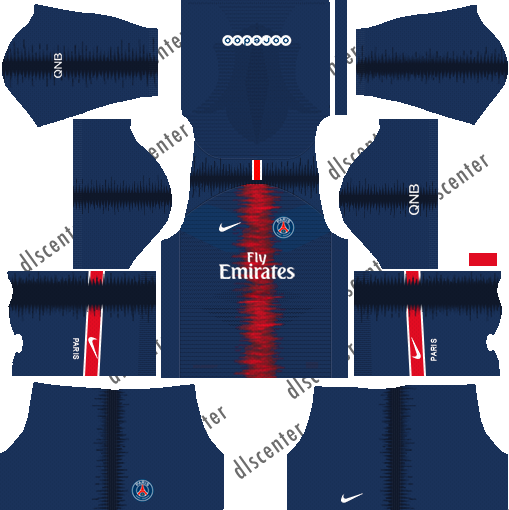 PSG Home Kit Dream League Soccer