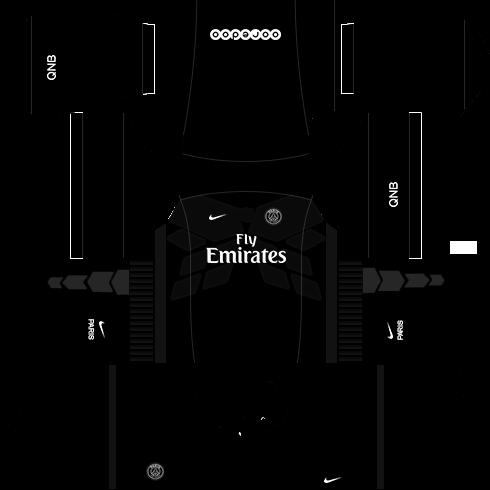 560a649e0 PSG 2018-2019 Kit   Logo - Dream League Soccer