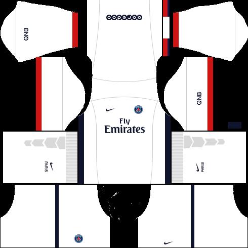 5ce9055ec4c PSG 2019-2020 Kit & Logo - Dream League Soccer