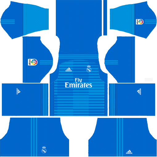 Real Madrid Goal keeper Away Kit 2018-2019 DLS