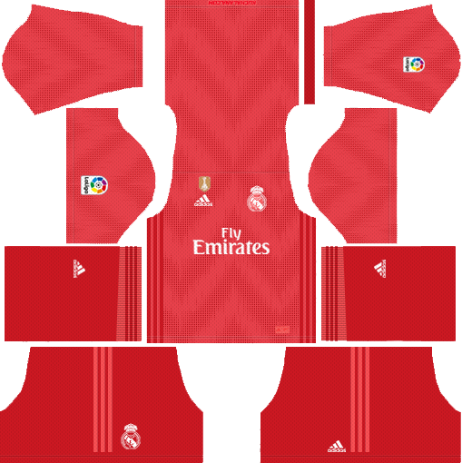 Real Madrid Third Kit 2018-2019 DLS