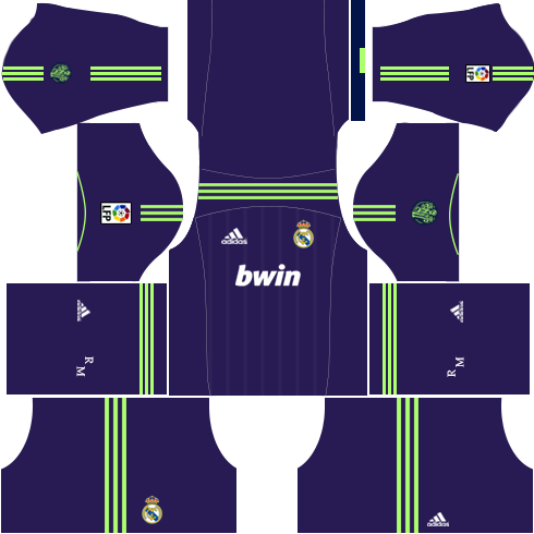 Real Madrid Away Kit 2012-2013