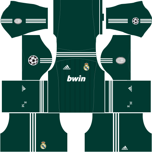 Real Madrid Champion League Kit 2012-2013