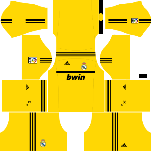 Real Madrid Goalkeeper Home Kit 2011-2012