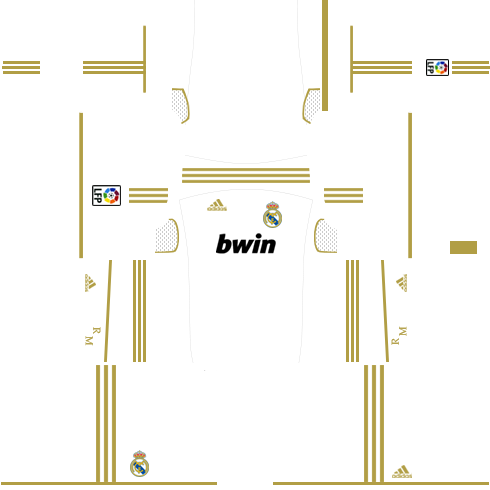 Real Madrid Home Kit 2011-2012