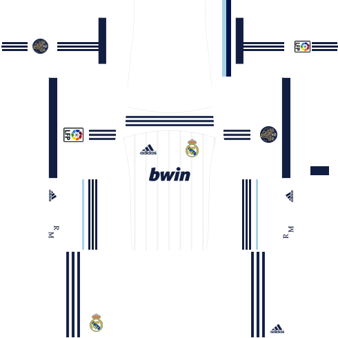Real Madrid Home Kit 2012-2013