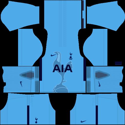 Tottenham Away Kit DLS 2017 - 2018