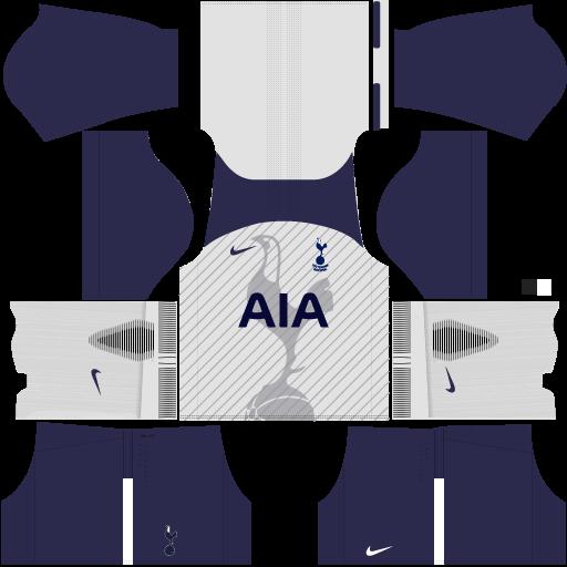 Tottenham Home Kit DLS 2017 - 2018