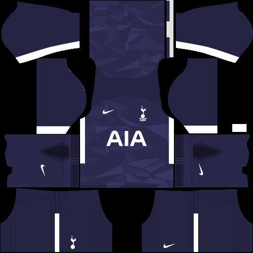 Tottenham Third Kit DLS 2017 - 2018