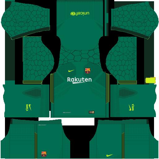 FC Barcelona 2018-2019 Kit - Dream League Soccer 4def28ee6