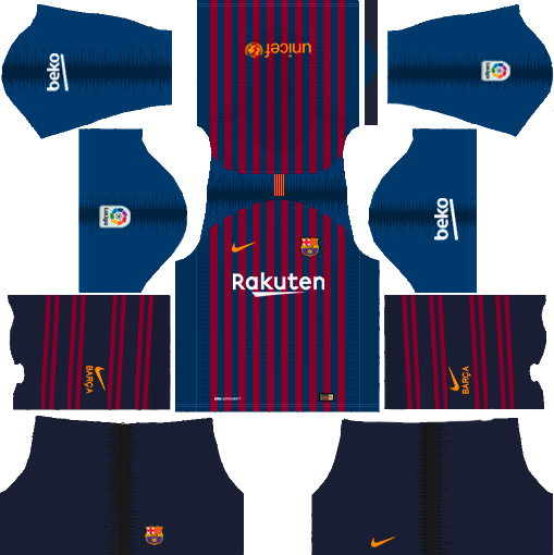 Barcelona Home Kit 2018 - 2019
