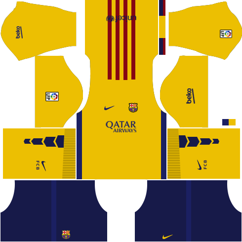 Barcelona Away Kit 2015-2016