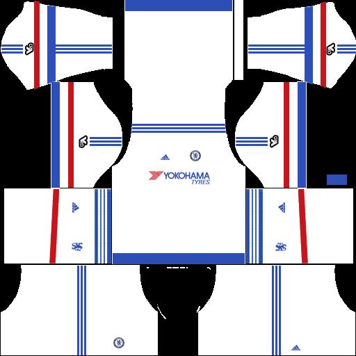 sale retailer cfd16 bade9 Chelsea FC 2019-2020 Kit - Dream League Soccer