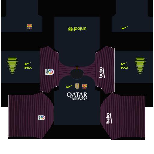 Barcelona Goalkeeper Away Kit