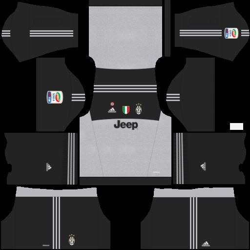2bcd4cc4eac Juventus 2018-2019 Kit & Logo - Dream League Soccer
