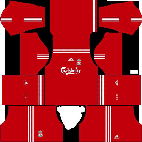 liverpool 2009-2010 kits