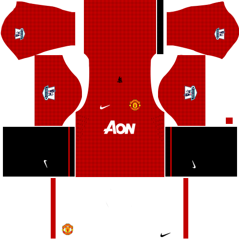 Manchester United Kits 2012-2013