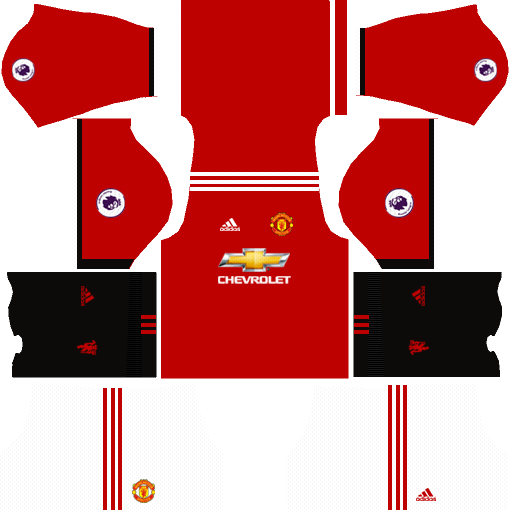 a4f4d6c89 Manchester United Kits   Logo 2018-2019 Dream League Soccer