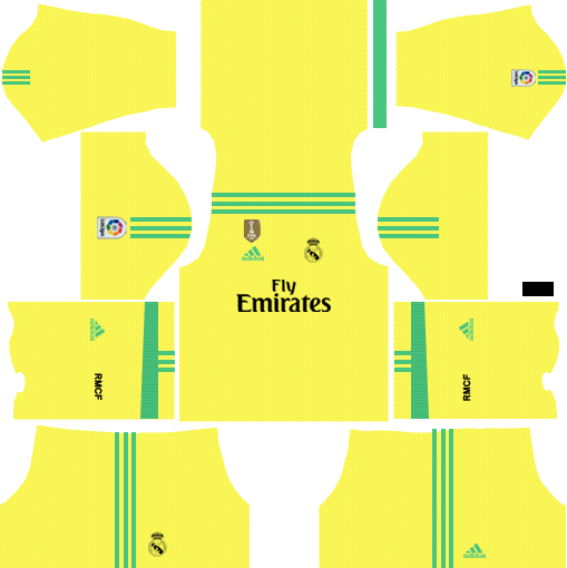 best loved b5dc0 0ee66 Real Madrid C.F. 2019-2020 Kit - Dream League Soccer