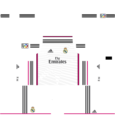 Real Madrid Home Kit 2014-2015